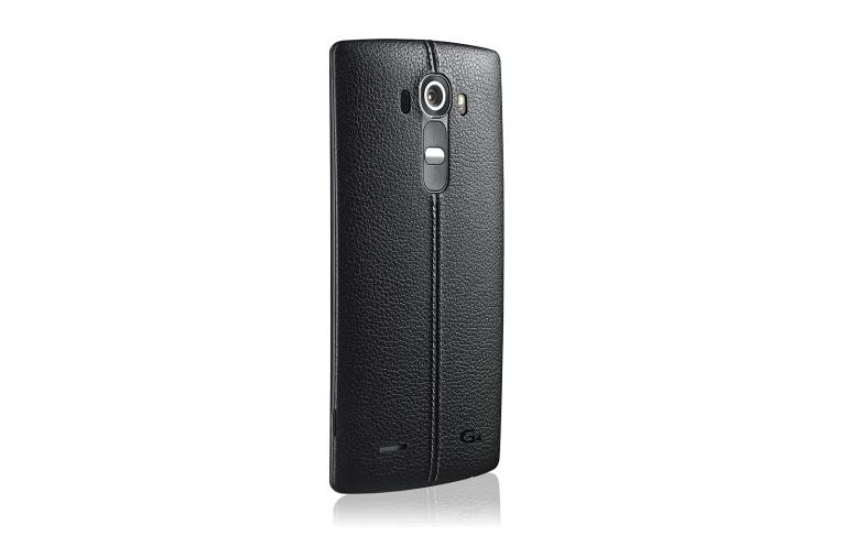 Cell Phones LG G4 Sprint in Genuine Leather Black thumbnail +3