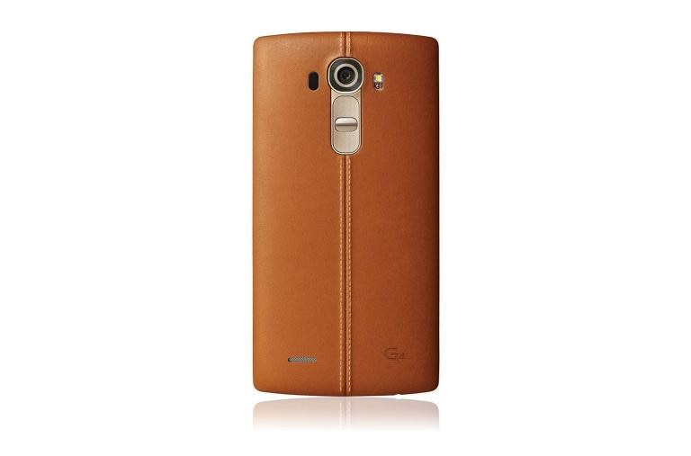 Cell Phones LG G4 T-Mobile in Genuine Leather Brown thumbnail 3