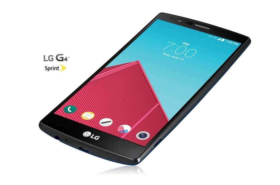Cell Phones LG G4 Sprint in Deep Blue 1