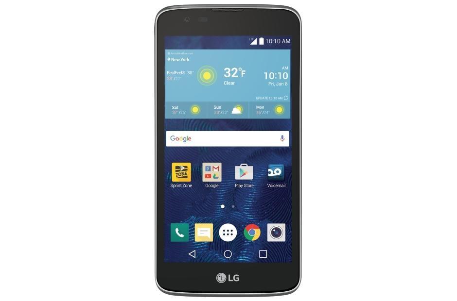 lg phone black. ls675 black lg phone