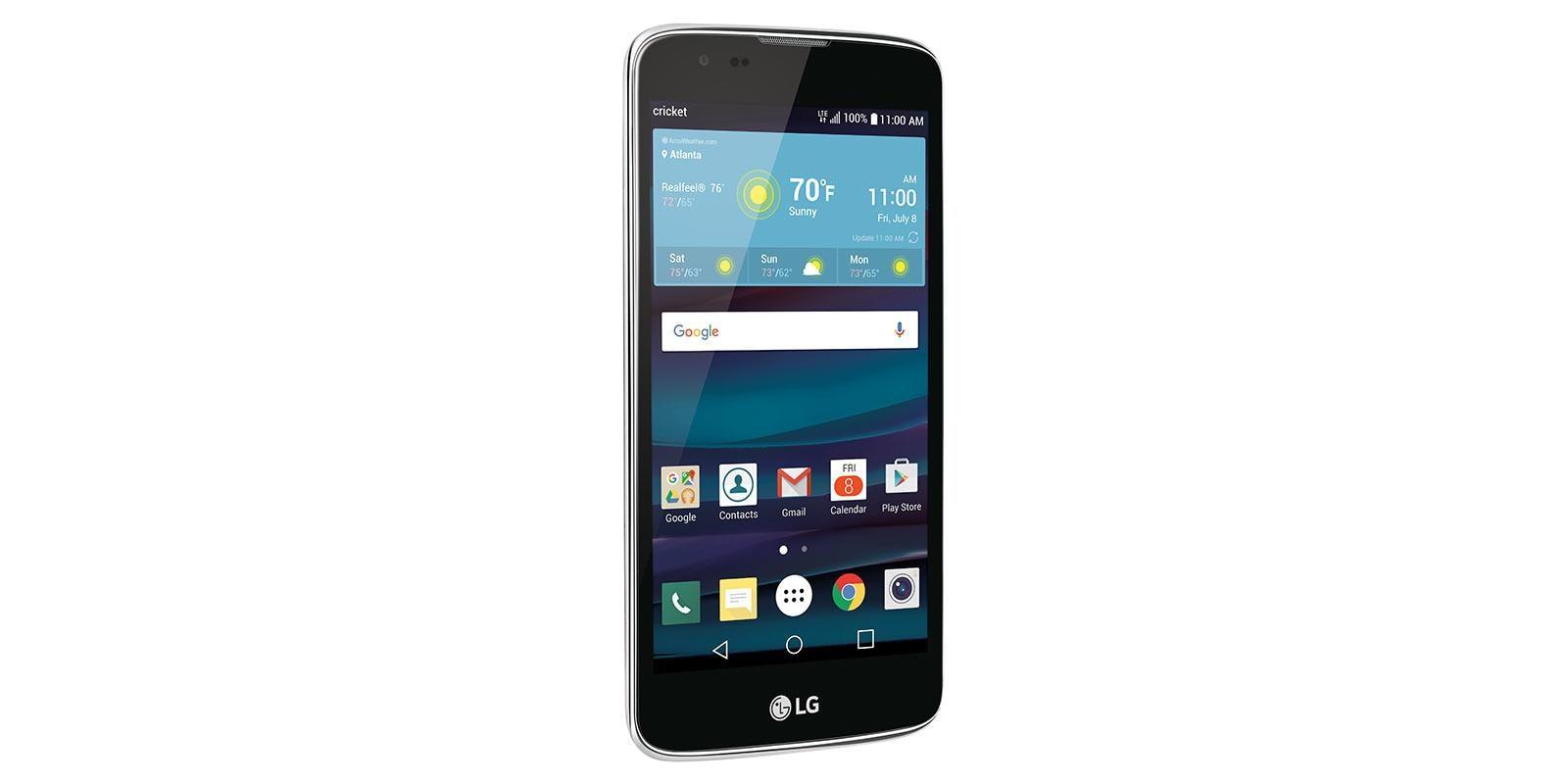 Lg escape 3 cricket wireless smartphone k373 blue lg usa buycottarizona Gallery