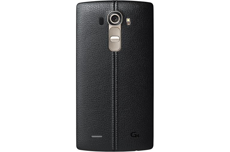 Cell Phones LG G4™ in Genuine Leather Black | Unlocked thumbnail +3