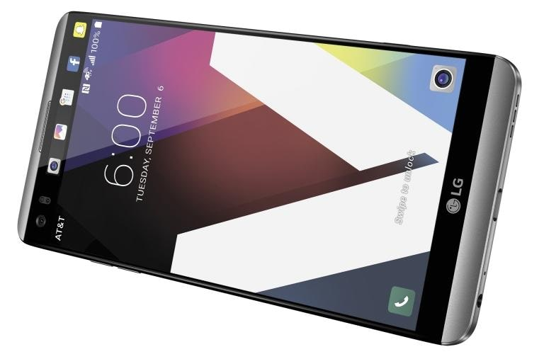 Lg V20 At T H910 Android Smartphone In Silver Lg Usa