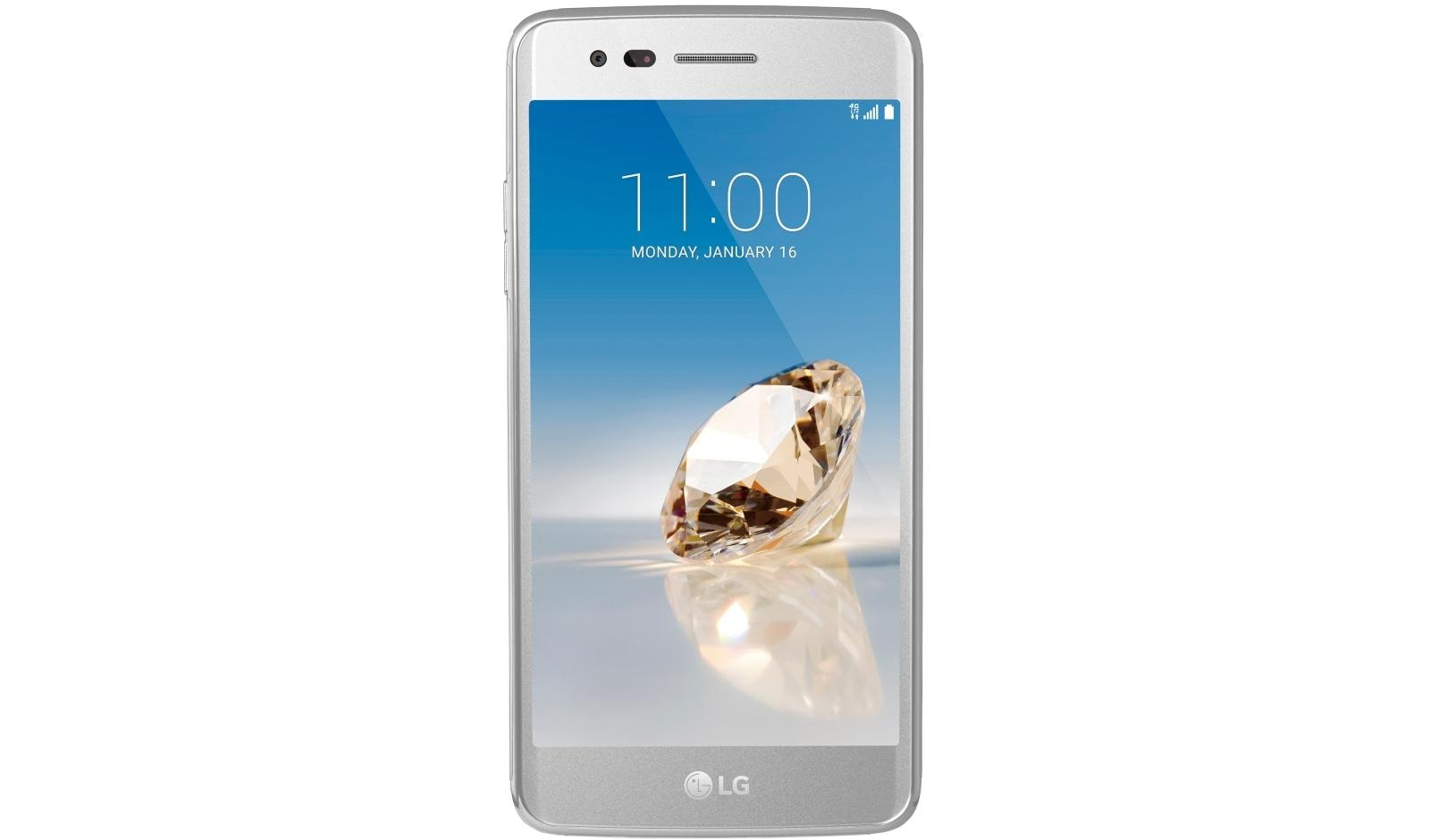 Lg Aristo Smartphone For Metro By T Mobile Ms210 In Silver Usa Apple Iphone 5 32gb White Free Tempered Glass Refurbish