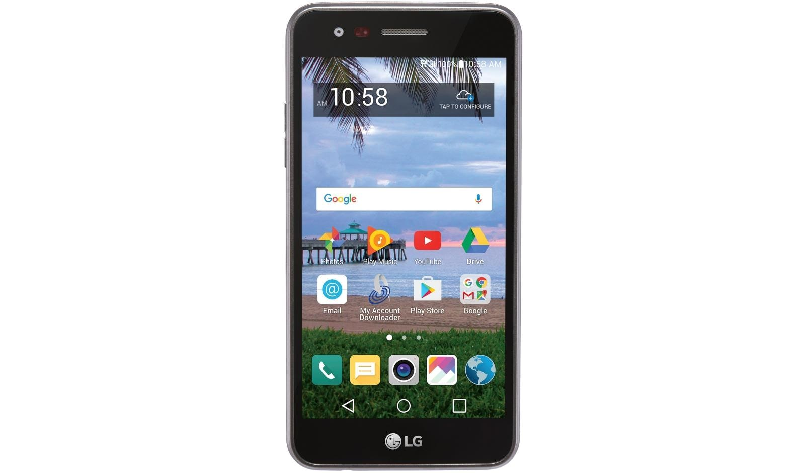 LG Rebel 2 LTE GSM Smartphone for TracFone (L57BL) | LG USA