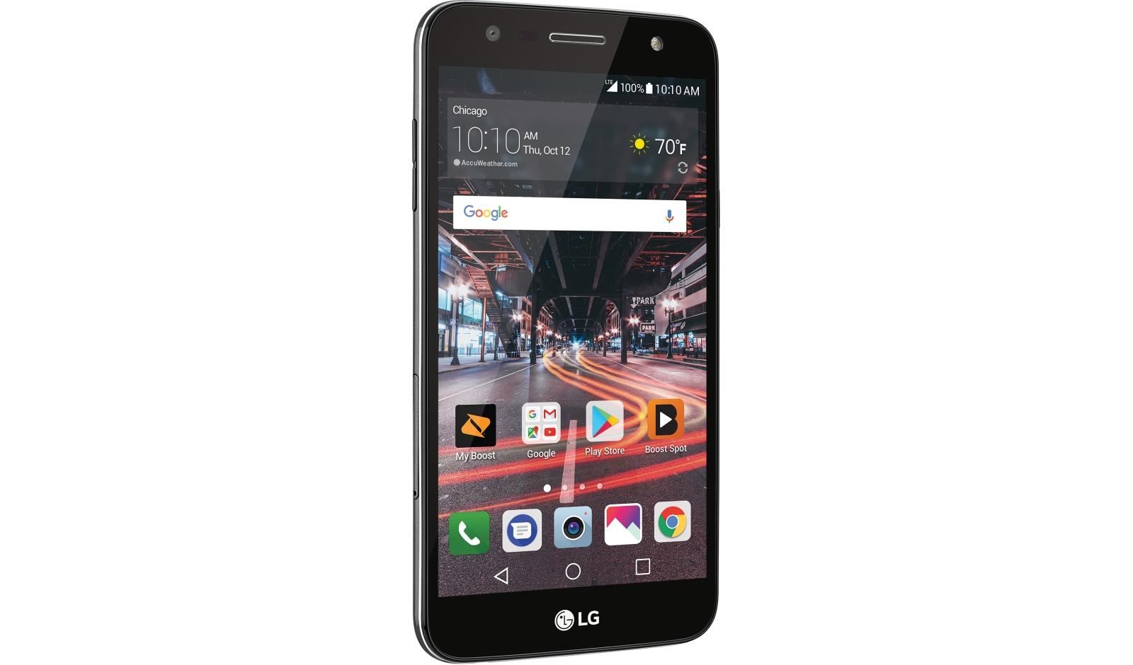 Lg X Charge Smartphone For Boost Mobile Sp320 Lg Usa
