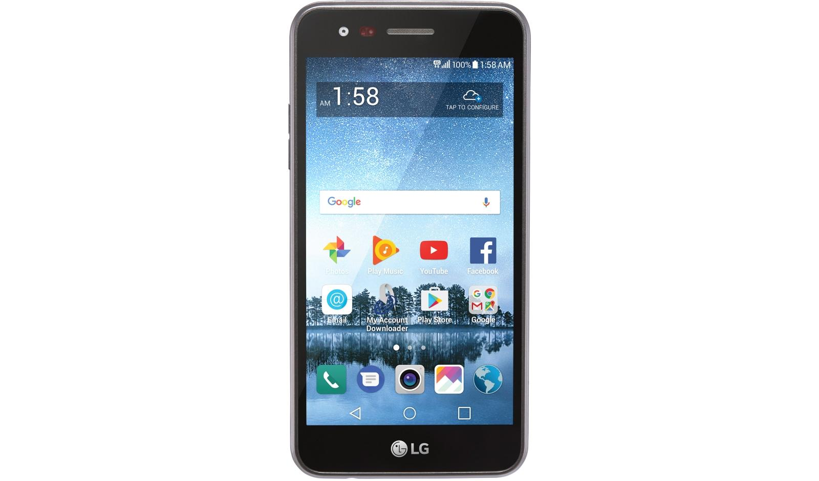 LG Rebel 3 LTE CDMA Smartphone for TracFone | LG USA