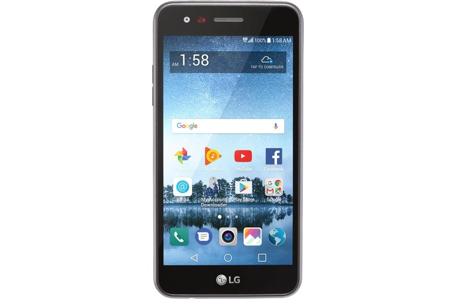 LG Rebel 3 LTE CDMA Smartphone for TracFone