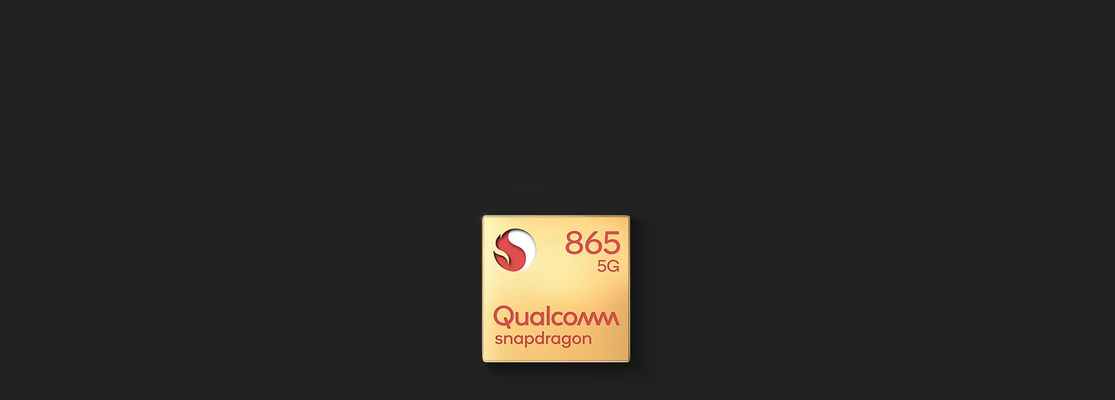 Image of Qualcomm® Snapdragon™ 865 5G Badge