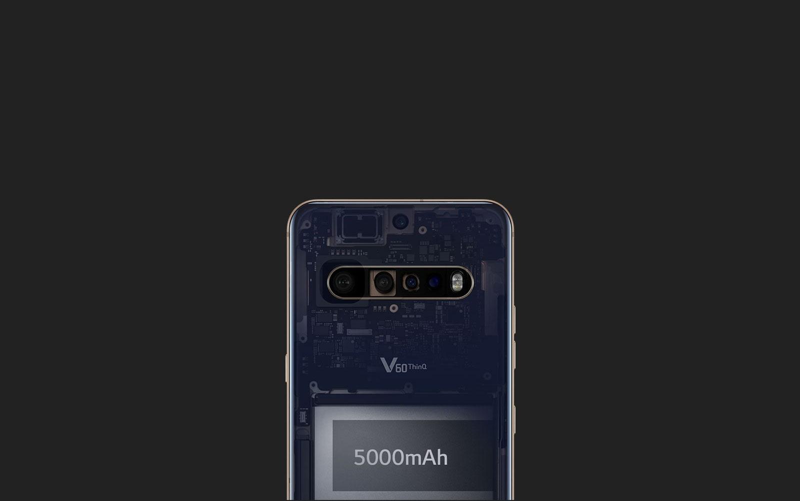 Imagen de batería de 5000 mAh
