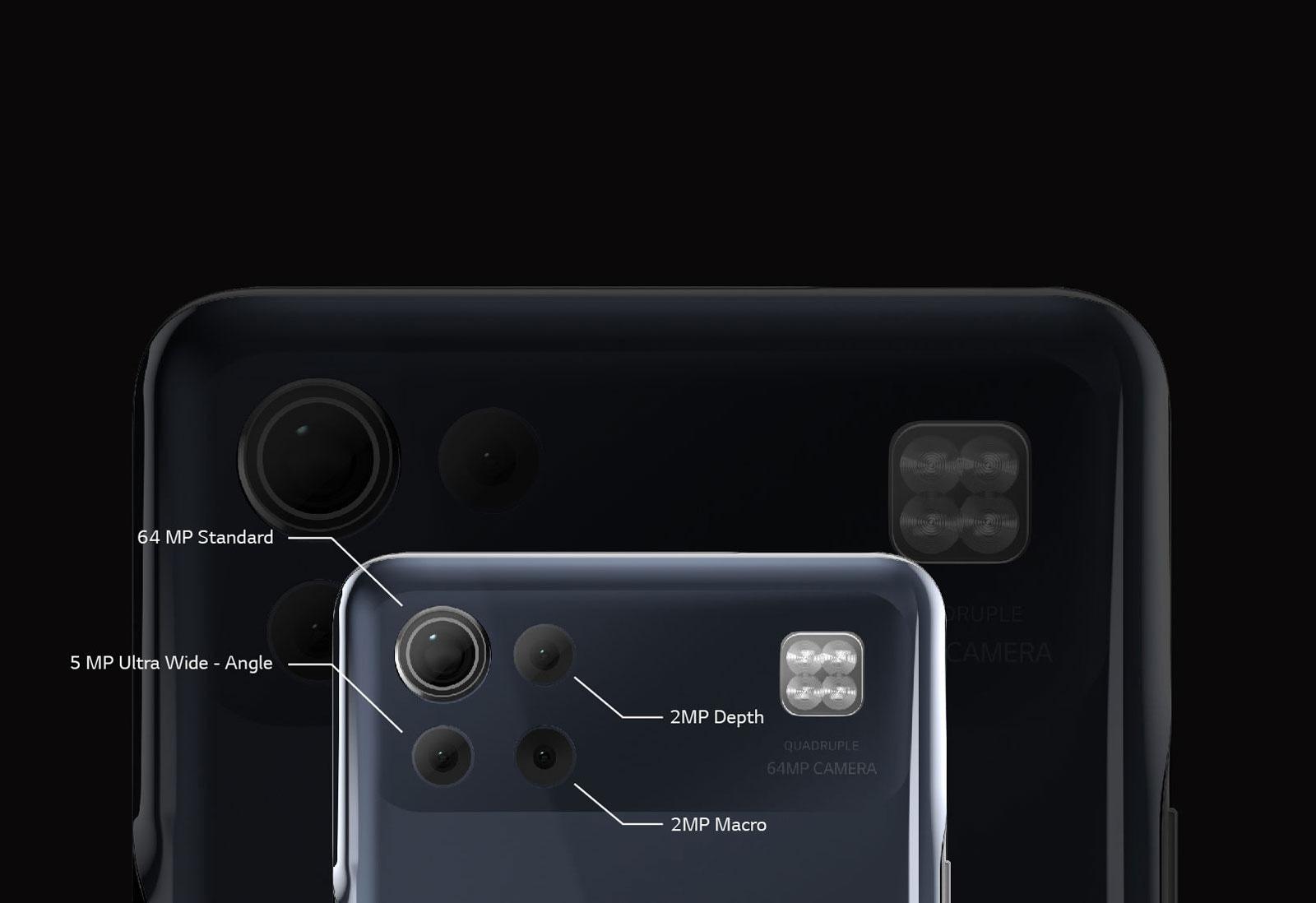 Image of quad camera on phone