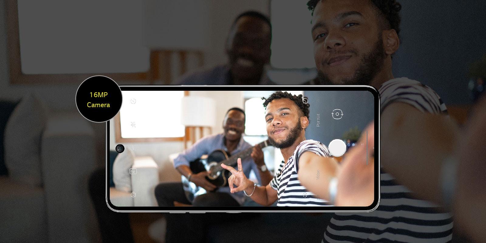Image showing two men taking a selfie