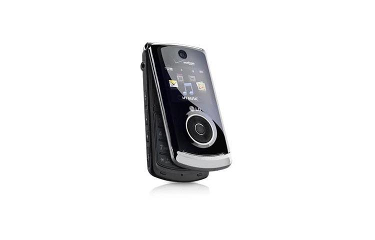 lg chocolate 3 vx8560 black compact flip phone for. Black Bedroom Furniture Sets. Home Design Ideas