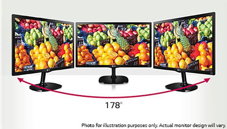 22'' Class Full HD IPS LED Monitor