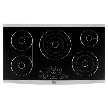 "LG STUDIO 36"" Electric Cooktop1"
