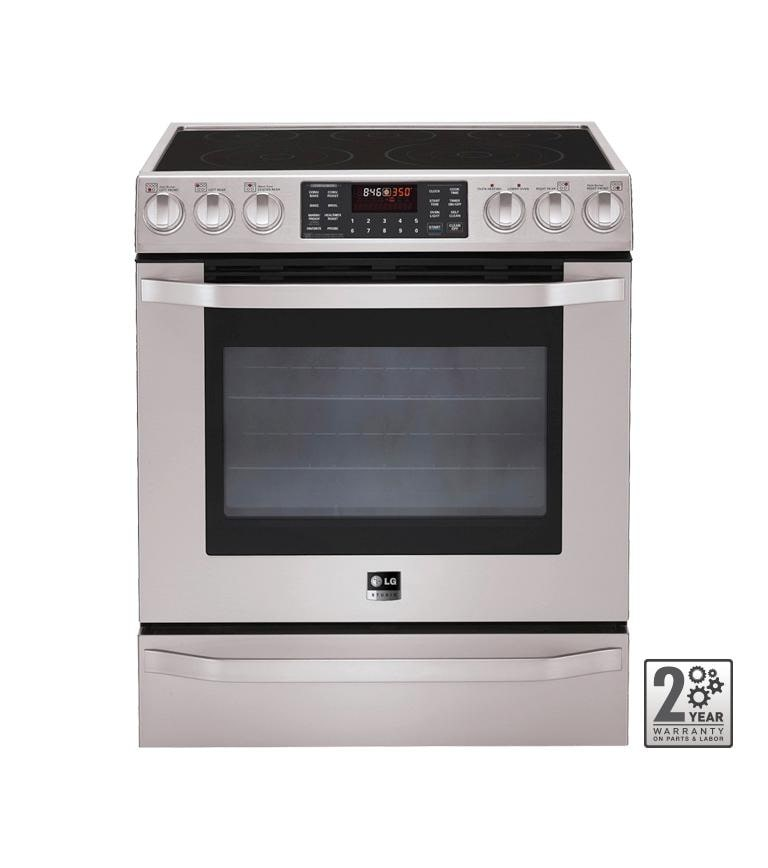 Lg Lses302st Lg Studio Electric Oven Range With Convection Lg Usa