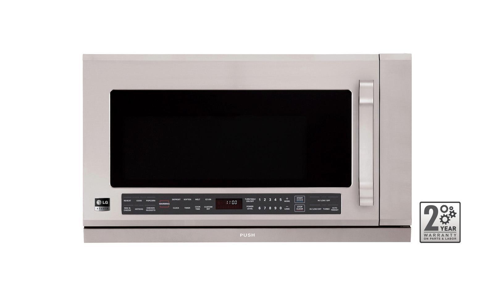 Lg Studio Over The Range Microwave Oven