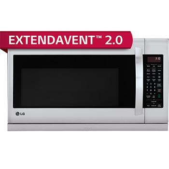 2.2 cu. ft. Over-the-Range Microwave Oven with EasyClean®1