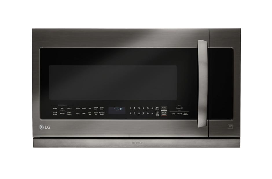 Lg Black Stainless Steel Series Lmhm2237bd 2 2 Cu Ft Over