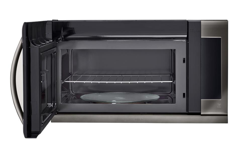 Lg Lmhm2237bd Black Stainless Steel Over The Range Microwave Usa