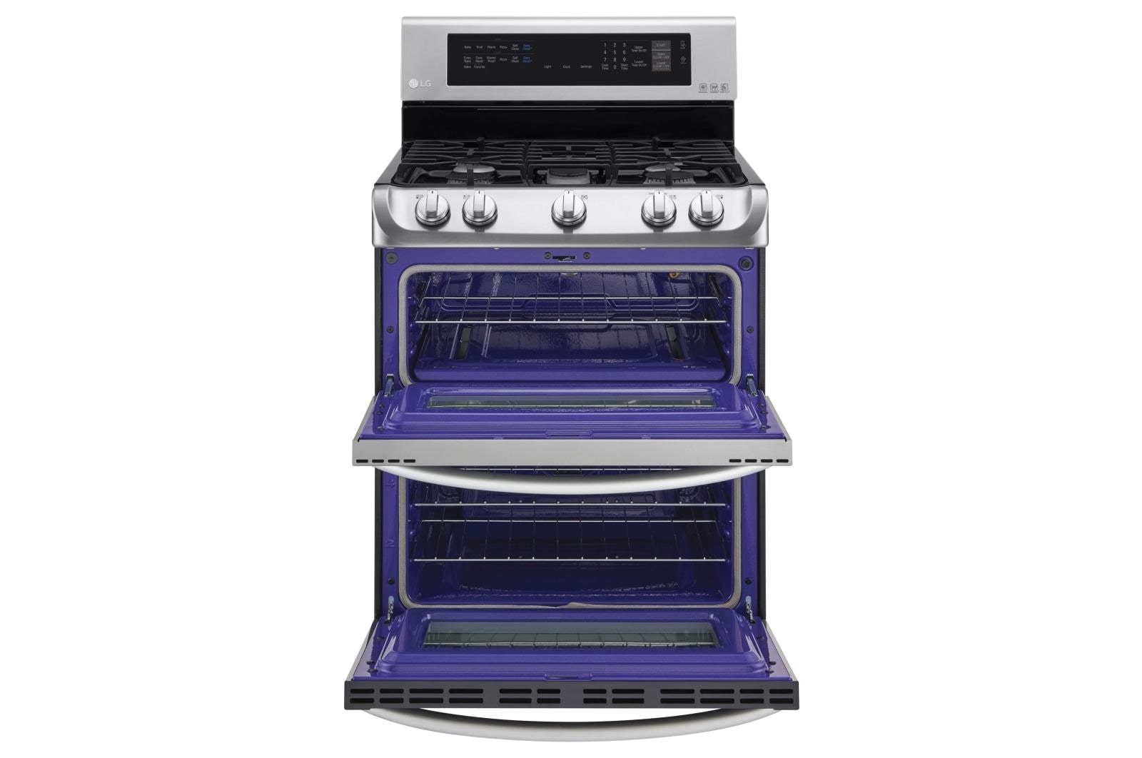 Gas Double Oven Range With Probake Convection And Easyclean