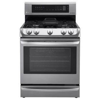 LRG4115ST - 6.3 cu. ft. Gas Single Oven Range with ProBake Convection™, EasyClean® and Warming Drawer1