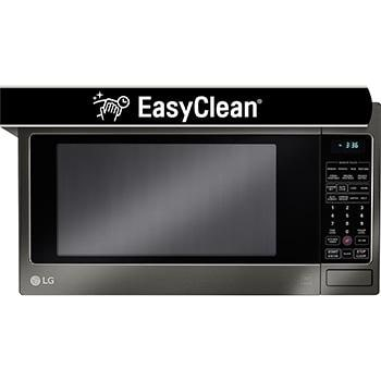 Lg Black Stainless Steel Series 2 0 Cu Ft Countertop Microwave Oven With Easyclean