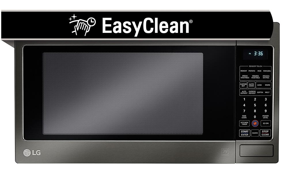 Lg Lcrt2010bd Countertop Microwave Oven With Easyclean