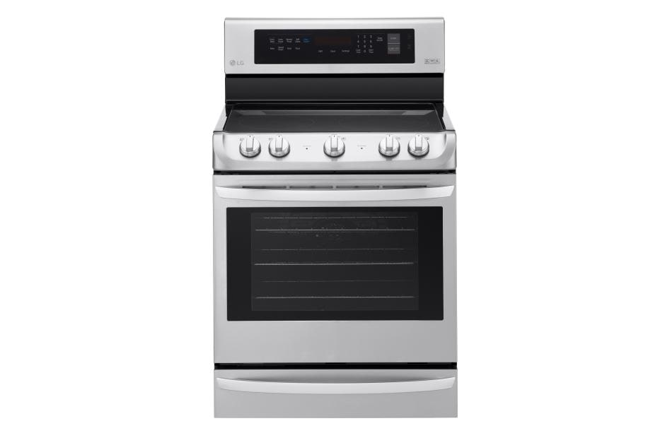 6 3 Cu Ft Electric Single Oven Range With Probake Convection And Easyclean