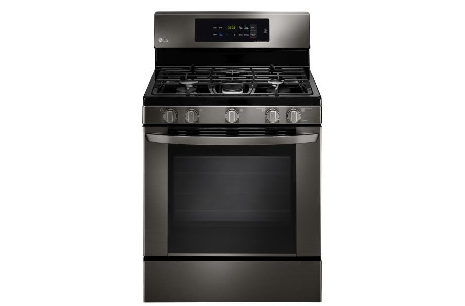 lg lrg3061bd  single oven gas range with easyclean