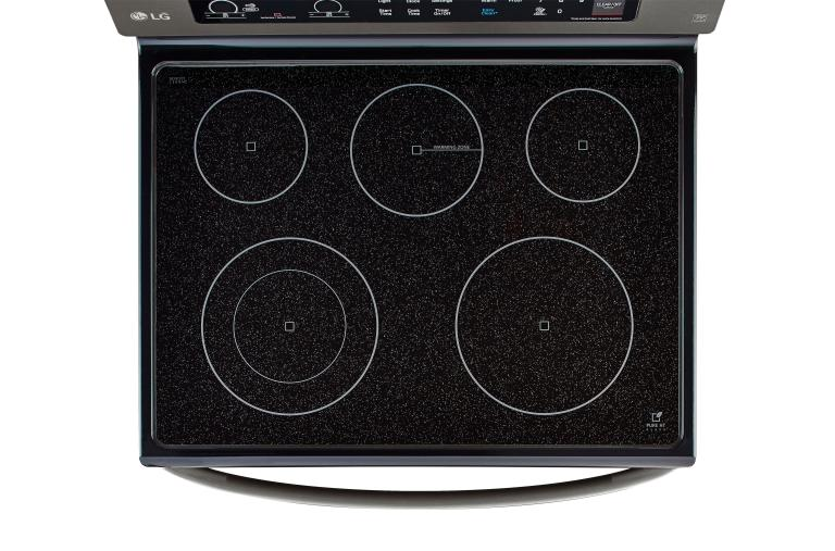 LG Cooking Appliances LRE3061BD thumbnail 4