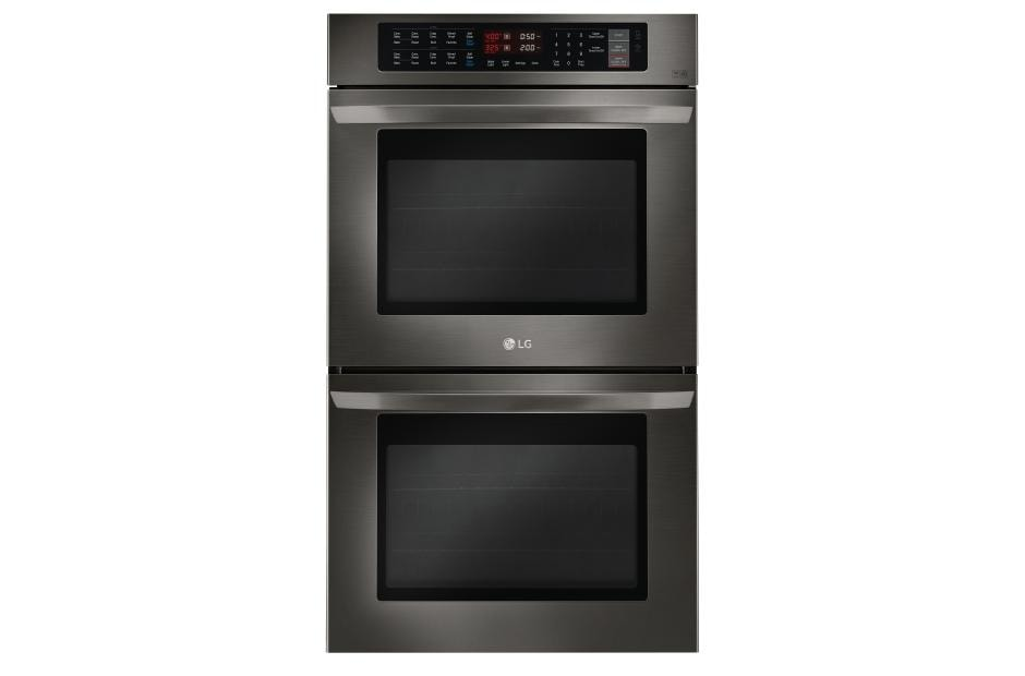Lg Lwd3063bd Black Stainless Steel Double Wall Oven Lg Usa