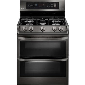 6.9 cu. ft. Gas Double Oven Range with ProBake Convection®, EasyClean® and Gliding Rack1