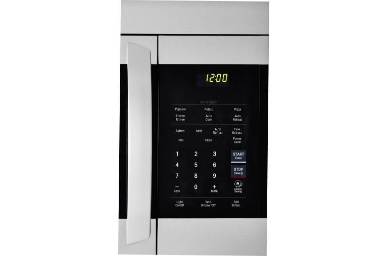 Lg Lmv1762st Over The Range Microwave Oven Lg Usa