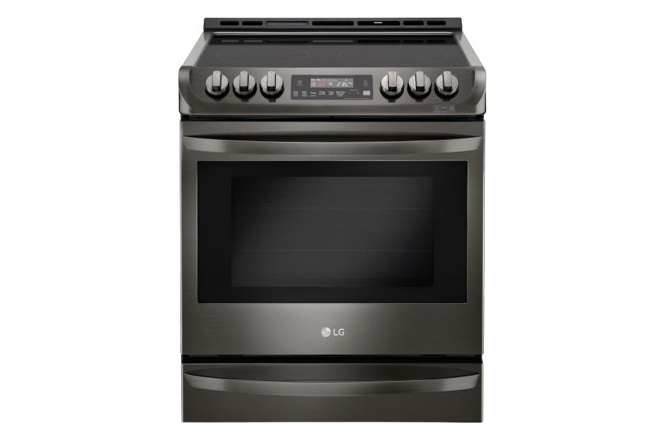 LG LSE4613BD: Black Stainless Steel Electric Slide-in Range | LG USA