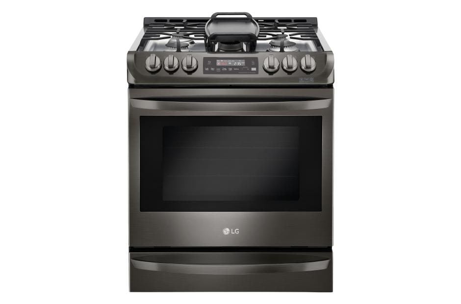 Stainless Steel Kitchen Stove lg lsg4513bd: 6.3 cu. ft. capacity slide-in gas range | lg usa