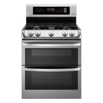 Wonderful Gas Double Oven Range With ProBake Convection® And EasyClean®