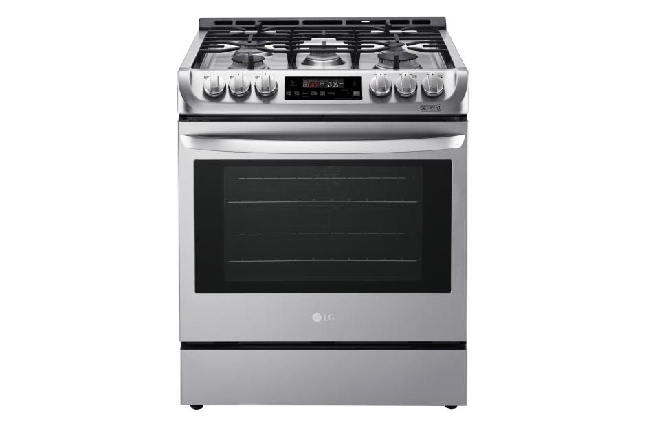Lg Lsg4511st Gas Slide In Range With Convection Lg Usa