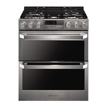 Lg kitchen ranges ovens cook with precision lg usa - Gas electric oven best choice cooking ...