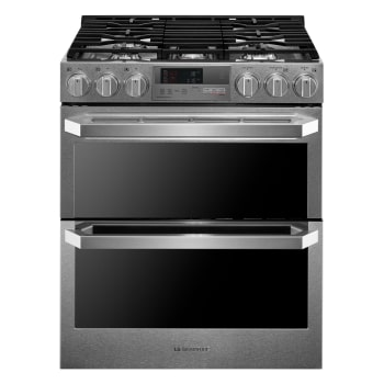 LG SIGNATURE 7.3 cu.ft. Smart wi-fi Enabled Dual Fuel Double Oven Range with ProBake Convection®1
