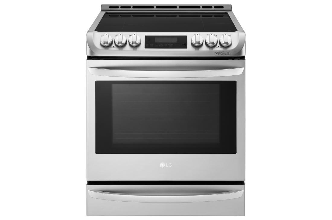 Superbe LG Cooking Appliances LSE4617ST 6.3 Cu. Ft. Smart Wi Fi Enabled Induction  Slide