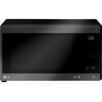 Lg Black Stainless Steel Series 1 5 Cu Ft Neochef Countertop Microwave With Smart