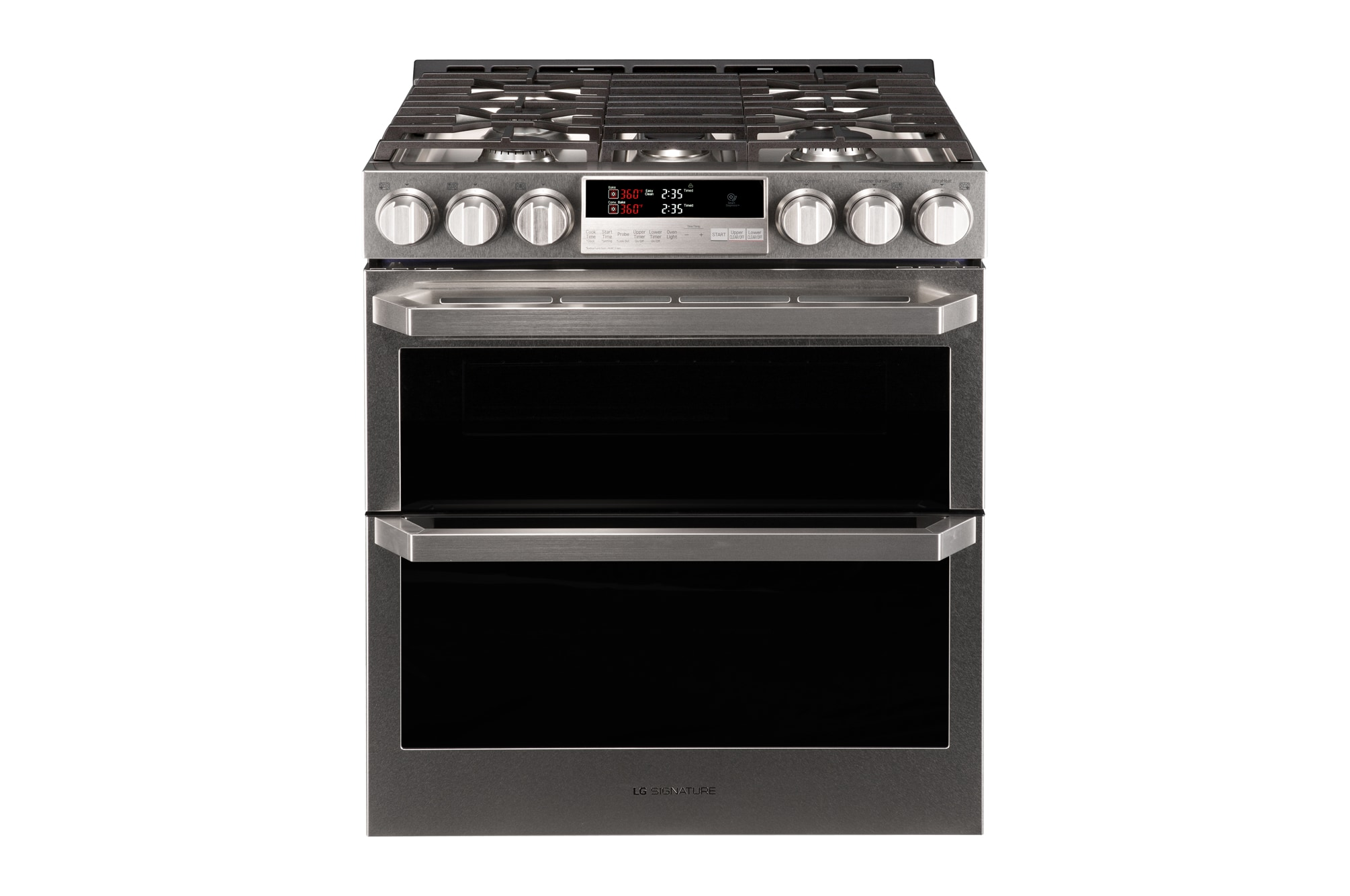 Lg Cooking Liances Lutg4519sn Signature 6 9 Cu Ft Smart Wi Fi Enabled