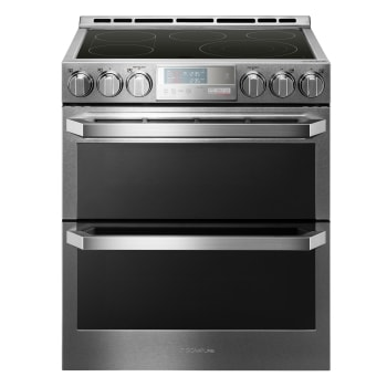 Smart Wi Fi Enabled Electric Double Oven Slide