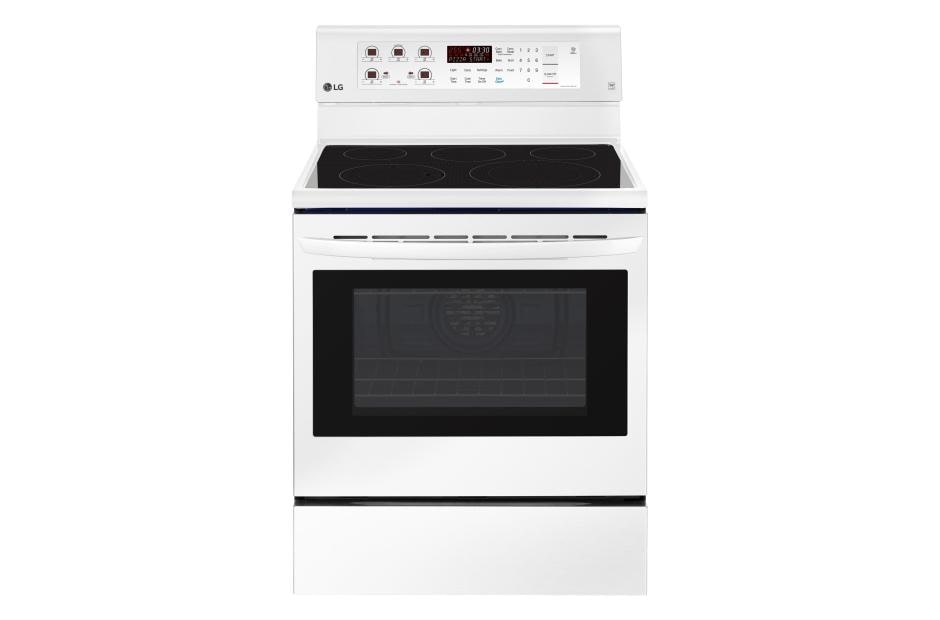 6 3 Cu Ft Electric Single Oven Range With True Convection And Easyclean