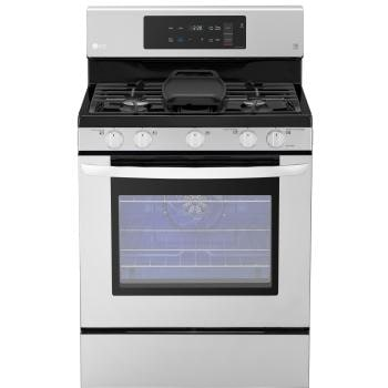 5.4 cu. ft. Gas Single Oven Range with Fan Convection and EasyClean®1