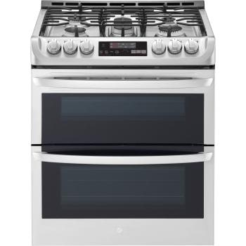 6.9 cu. ft. Smart wi-fi Enabled Gas Double Oven Slide-In Range with ProBake Convection® and EasyClean®1