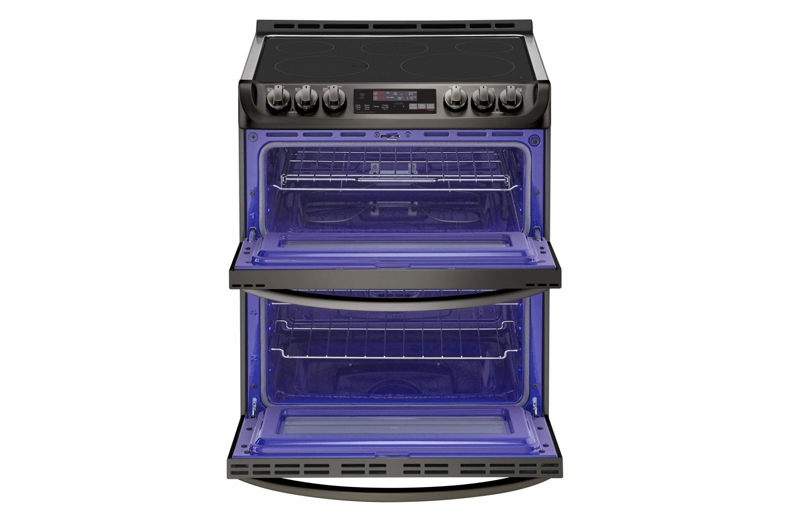 Smart Wi Fi Enabled Electric Double Oven Slide In Range With Probake Convection And Easyclean