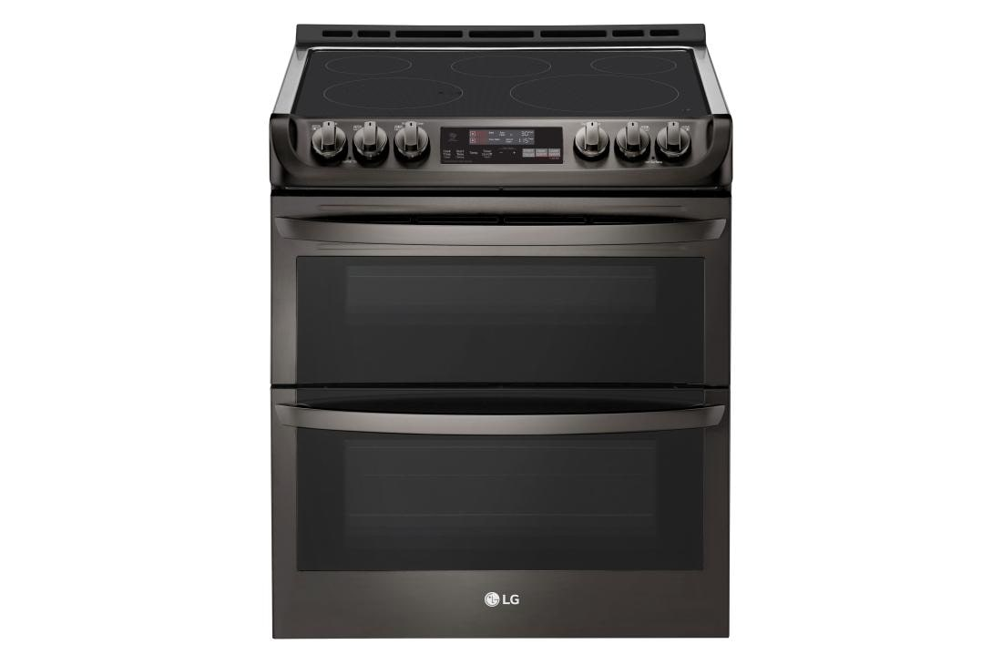 7 3 cu  ft  Smart wi-fi Enabled Electric Double Oven Slide-In Range with  ProBake Convection® and EasyClean®