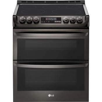7.3 cu. ft. Smart wi-fi Enabled Electric Double Oven Slide-In Range with ProBake Convection® and EasyClean®1